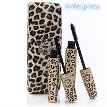 2 шт. = 1 набор, Wild Leopard, брендовая тушь для ресниц, 3D волокно, ресницы Love Like Alpha, водонепроницаемый гель для трансплантации и натуральный макияж, набор косметики
