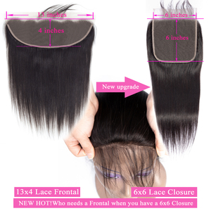 Image 4 - Queenlike مستقيم 6x6 إغلاق كبير حجم الدانتيل السويسري إغلاق قبل قطعها مع شعر الطفل شعري الطبيعي البرازيلي شعر ريمي