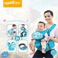 Mambobaby 4 em 1 multifunções portador de bebê dos desenhos animados 3-36 meses baby sling hipseat envoltório do bebê mochila infantil respirável portadores