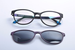 Image 2 - DEDING משקפיים עם מגנטי קליפ על משקפי שמש קוצר ראיה נהיגה משקפיים מקוטב משקפי שמש קליפ על שמש משקפיים DD1404