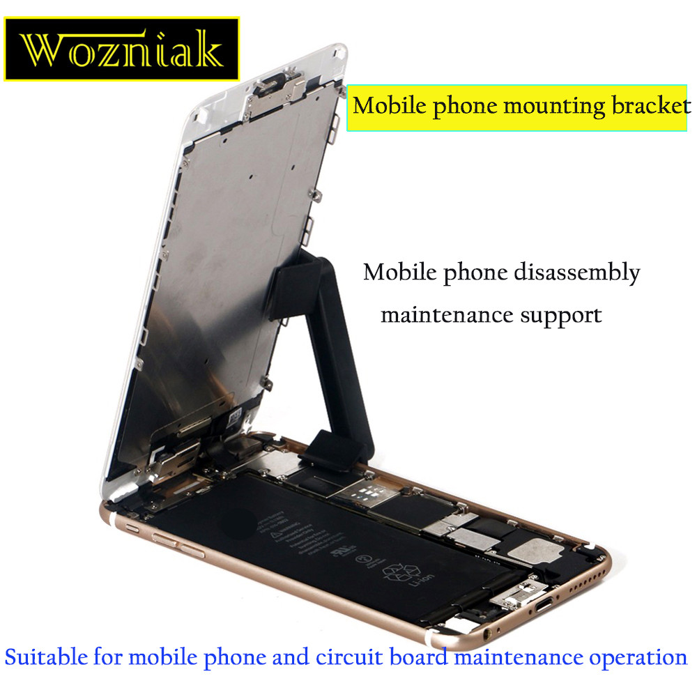 Wozniak 2pcs Universa Jig Holder Work Station For iPhone for Samsung Mobile Phone Repair Tool LCD Screen Repair Stable Stand mobile phone repair tools aluminum metal lcd pcb holder tray for iphone lcd panel refurbish support station
