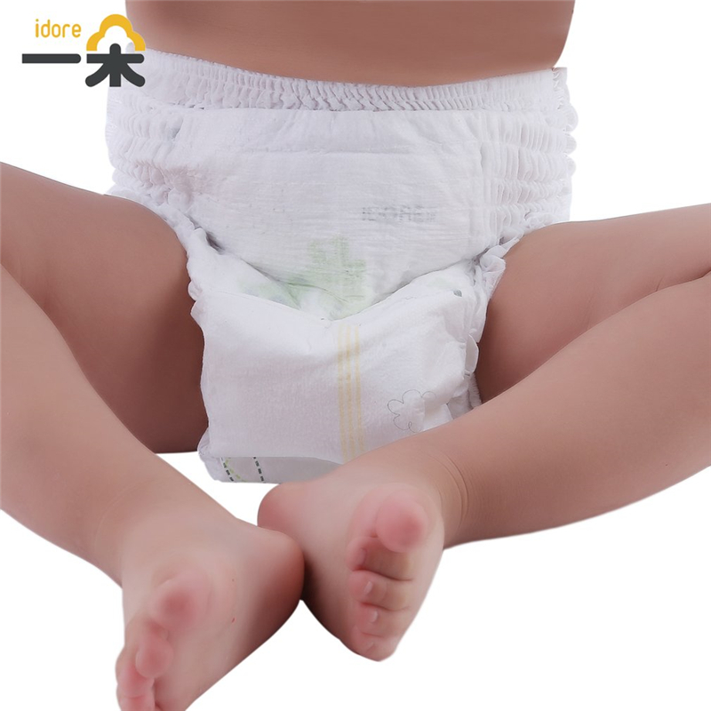 Idore Infant Baby Diapers Pant Ultra Thin Baby Training Underpants Disposable Diaper Ultra-Fast Liquid Absorption Unisex Nappy idore diaper pants 48pcs xl diaper pants ultra thin baby underpants disposable diaper soft baby care cover infant diaper nappy