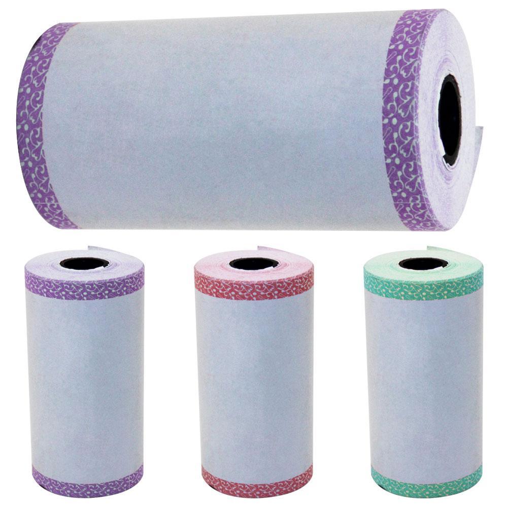 Hot Self-adhesive Wärme-empfindliche Thermische Aufkleber Druck Papier für  Foto Drucker ~ Best Deal