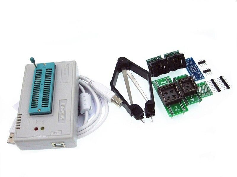 где купить 1set V7.05 TL866II Plus Programmer USB EPROM Nand FLASH BIOS EEPROM FLASH 8051 24 93 25 also have proman better than TL866A/CS по лучшей цене