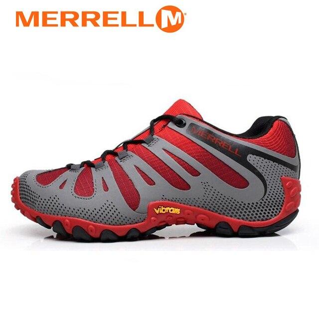 1873cd879a2 Merrell hommes Maille Respirant Antidérapant Chaussures De Randonnée En  Plein Air Pour Homme Sport Trekking Montagne