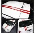 Techo de pegatinas el Cuerpo del coche 500 Auto Accesorios Del Coche Para Fiat 500 500C