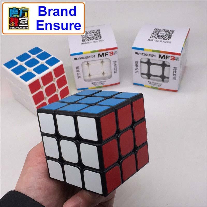 Brand Assurance MOFANGJIAOSHI 3x3x3 Magic Cube Profissional Competition Speed Cubo Puzzle Rubiks Cube Cool Children Toys MF308