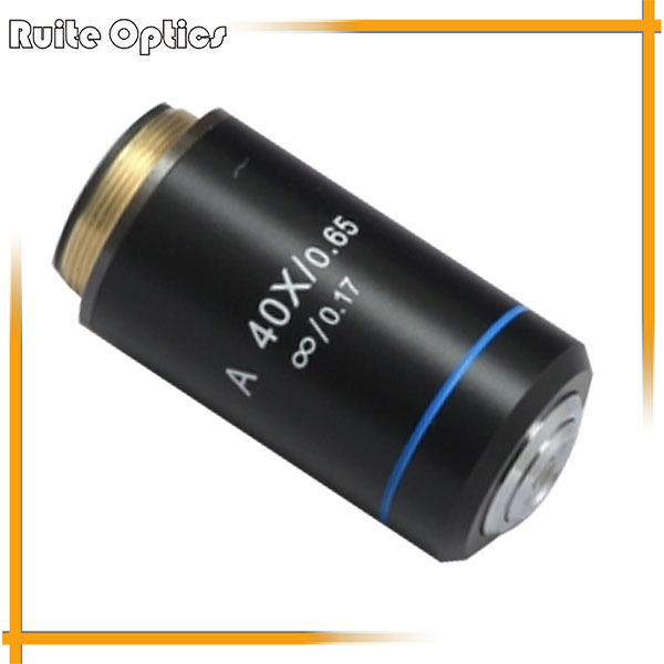 High Quality 40X Long Working Distance Plan Infinity Objective for METALLURGICAL Microscope wd 5002 5005 5010 5020 5050 infinity corrected long working distance objective