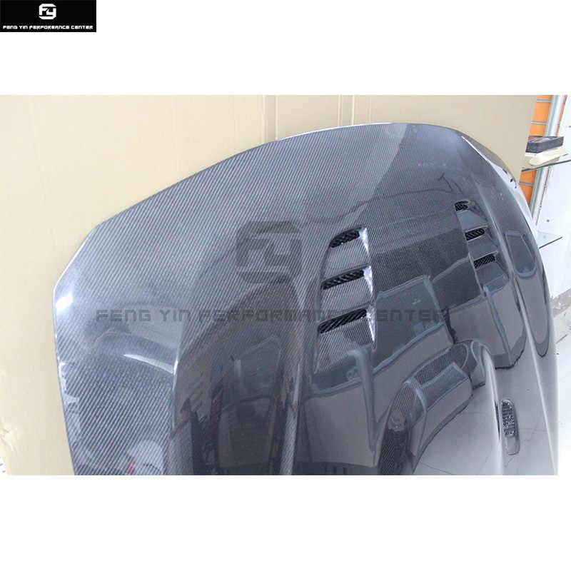 F30 M3 Стиль углеродного волокна Защитная крышка для капота двигателя капот вытяжки с четырьмя вентиляционными отверстиями для BMW F30 3 серии 325i 335i M3 Стиль 2014UP