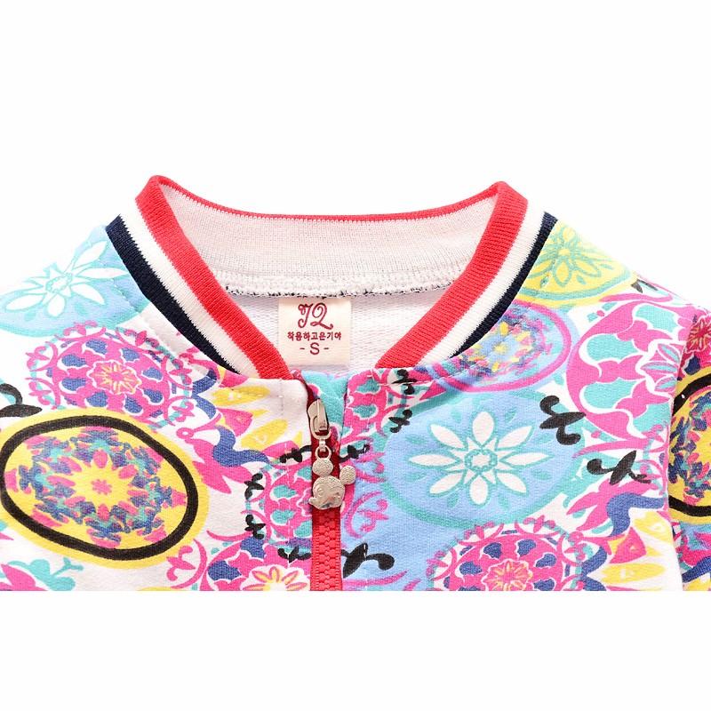 New Baby Coats Print Boys Girls Jackets Spring Autumn V Neck Cardigan Coat Fashion Infant Cotton Coat 7-24 Months Baby Clothing (6)