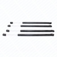 4x Auto Tailgate Rear Window Lift Supports Gas Spring Struts Damper Charged Arms Rods For 2002