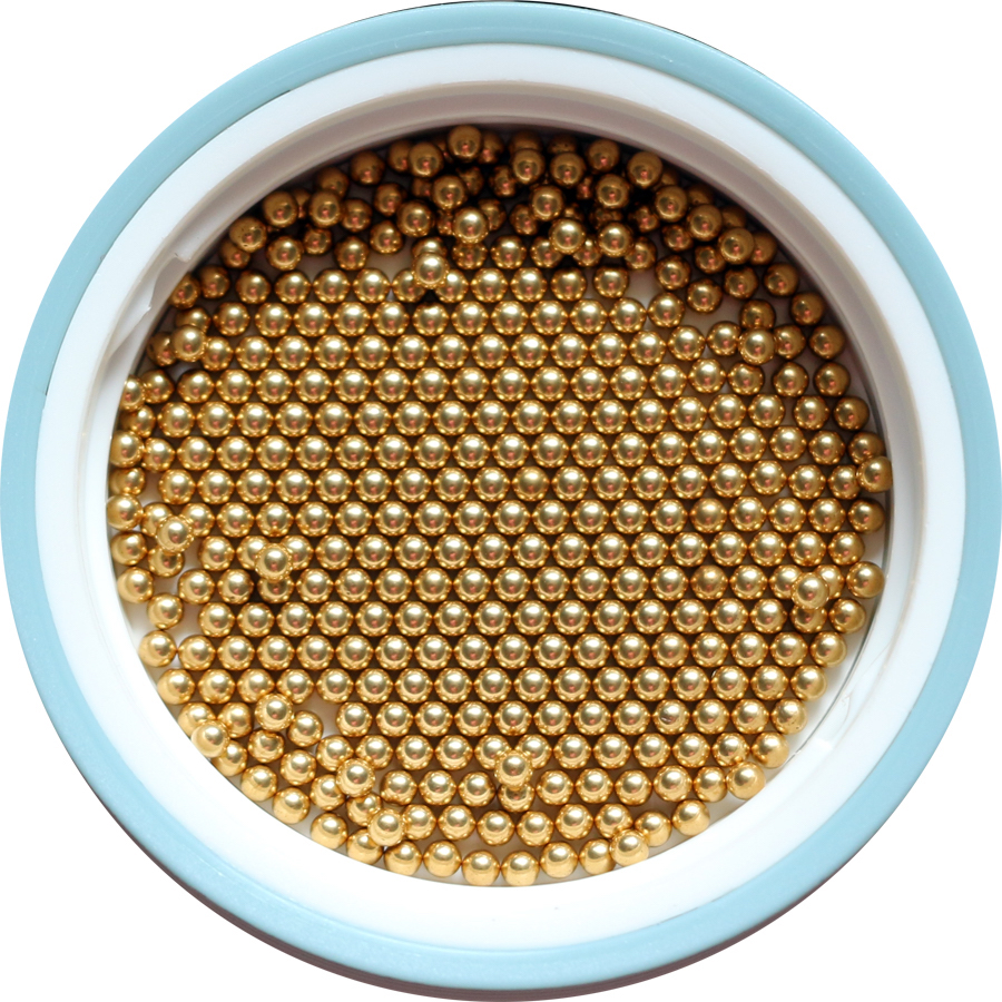 2.2mm 100 PCS Solid Brass Bearing Ball ( H62 ) Free Shipping