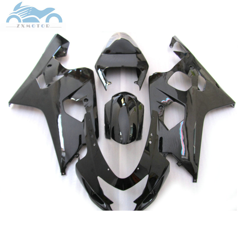 Upgraded your <font><b>Fairing</b></font> <font><b>kits</b></font> for SUZUKI 2004 2005 GSXR600 750 motorcycle <font><b>fairings</b></font> <font><b>kit</b></font> <font><b>04</b></font> 05 GSXR750 <font><b>GSXR</b></font> <font><b>600</b></font> K4 K5 all black SZ24 image