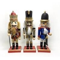 HT114 New Hot Frete grátis Ação & Toy Boutique rei, comércio exterior originais 24 CM clipe noz artesanato puppet