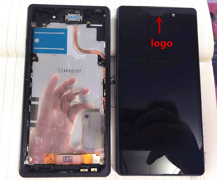 ФОТО 100% tested LCD Display For Sony Xperia Z2 L50W D6502 D6503 Digitizer Touch Screen with frame Assembly +Tools Black white purple