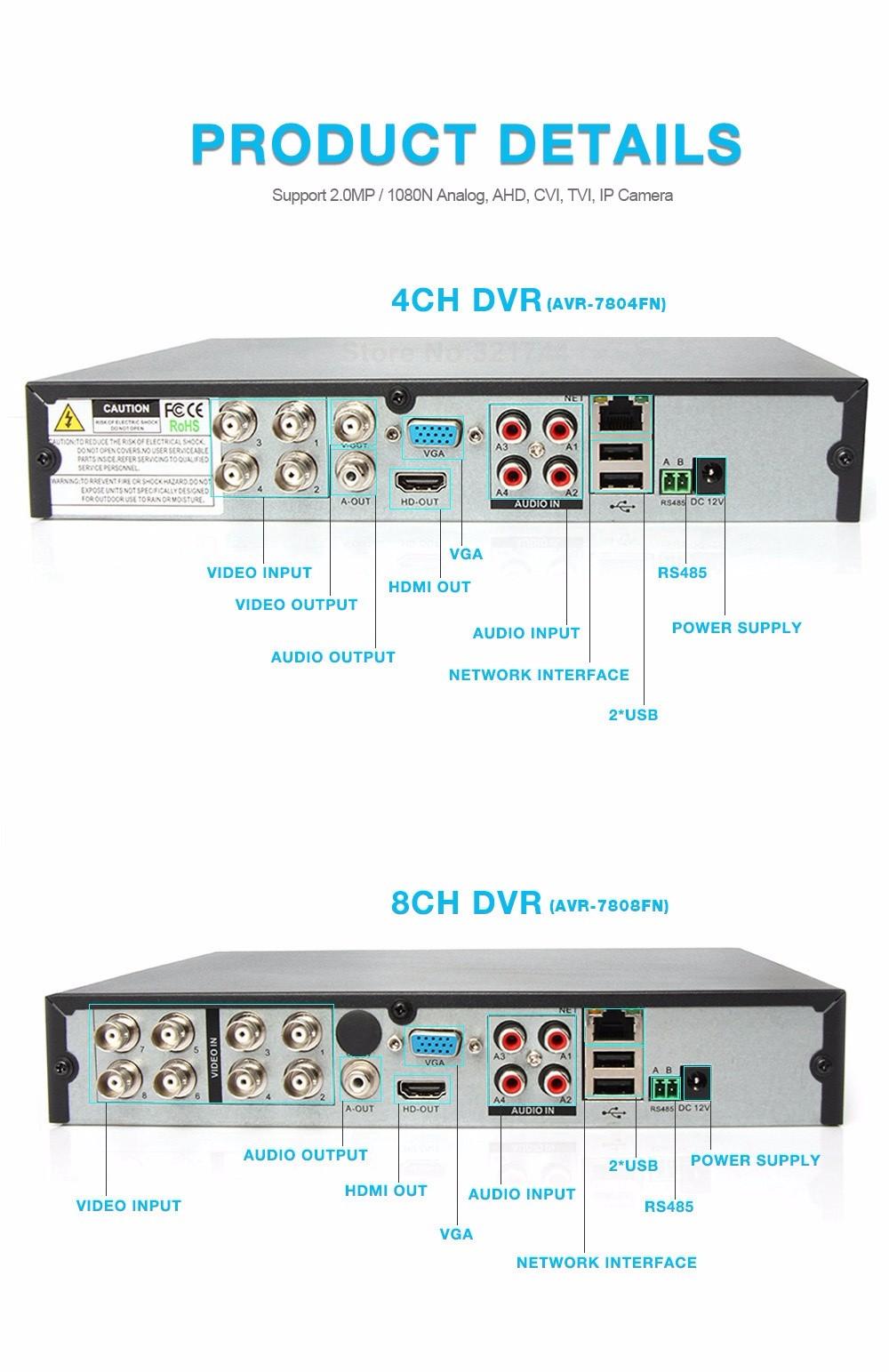 09 4Ch AHD CCTV DVR