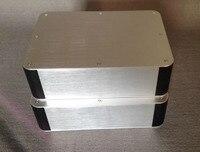 HIFIDIY verstärker whole aluminium chassis leistungsverstärker audio box-in Verstärker aus Verbraucherelektronik bei