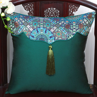 High grade Embroidery flower Cushion Cover Pillow Case For Sofa Office Car Home Pillowcase