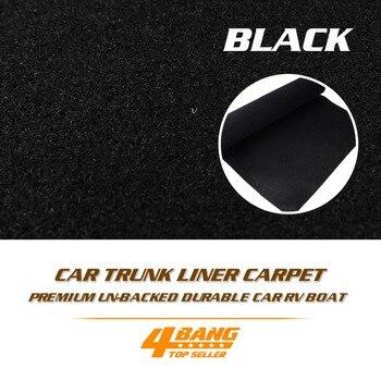 """200cm x 60cm 80 """"x 24"""" caja de altavoz de alta calidad armario duradero estera de alfombra para coche Auto maletero Van barco Interior LinerCover"""