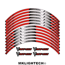 k-sharp 3 color for YAMAHA MT-03 motorcycle wheel decals Reflective stickers rim stripes MT 03 motorbike mt03 for yamaha r3 general purpose motorcycle wheel decals reflective stickers rim stripes for yamaha r3