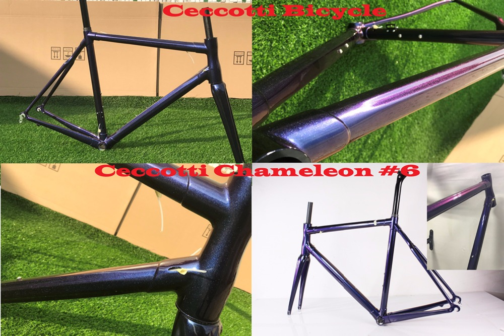 Cuadros De Carbono 2018 Diy Chameleon Color Carbon Frame Road Bike Frame Bsa
