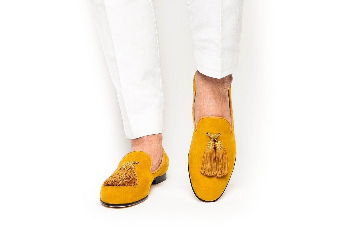 Zapatos planos de Hombre Zapatos de vestir de negocios zapatos de hombre negro slip on tassel boda Hombre Zapatos - 3
