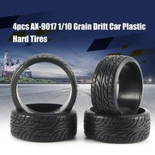 4 stks 1/10 Medium Grain Drift RC On-road Autoband 26mm Plastic Harde Band voor Wielen KYOSHO TAMIYA HPI Redcat Racing HSP Onderdelen(China)
