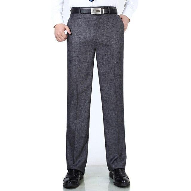 Anti Wrinkle Smooth Silk Suits Pants