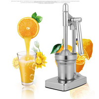 Manual Stainless Steel Hand Press Juicer Squeezer Citrus Lemon Orange Pomegranate Fruit Juice Extractor Commercial Or
