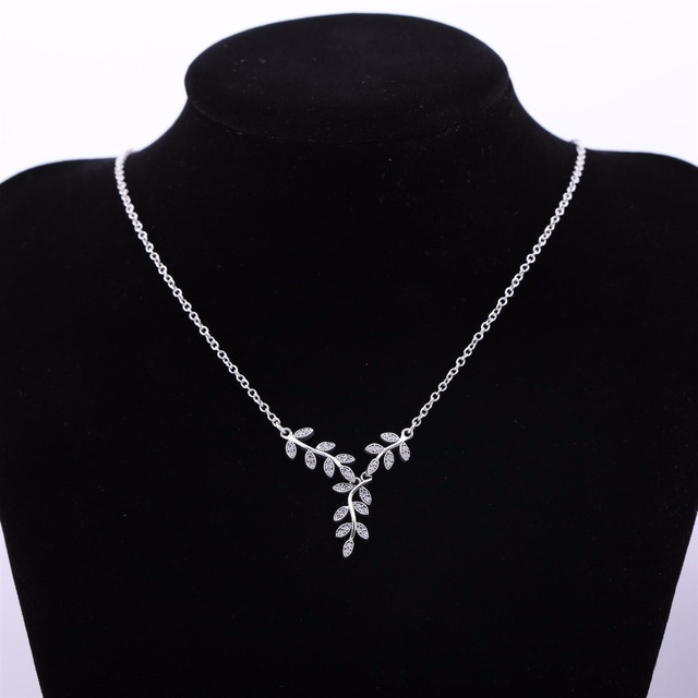 2017 Collares Collier Fashion Jewelry Accessory 100% Sterling Silver For Woman Cz Crystal from Swarovski Name Necklace Charm