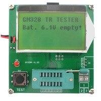 Transistor Tester RLC\ESR Meter NPN PNP Cymometer Square Wave Generator GM328A