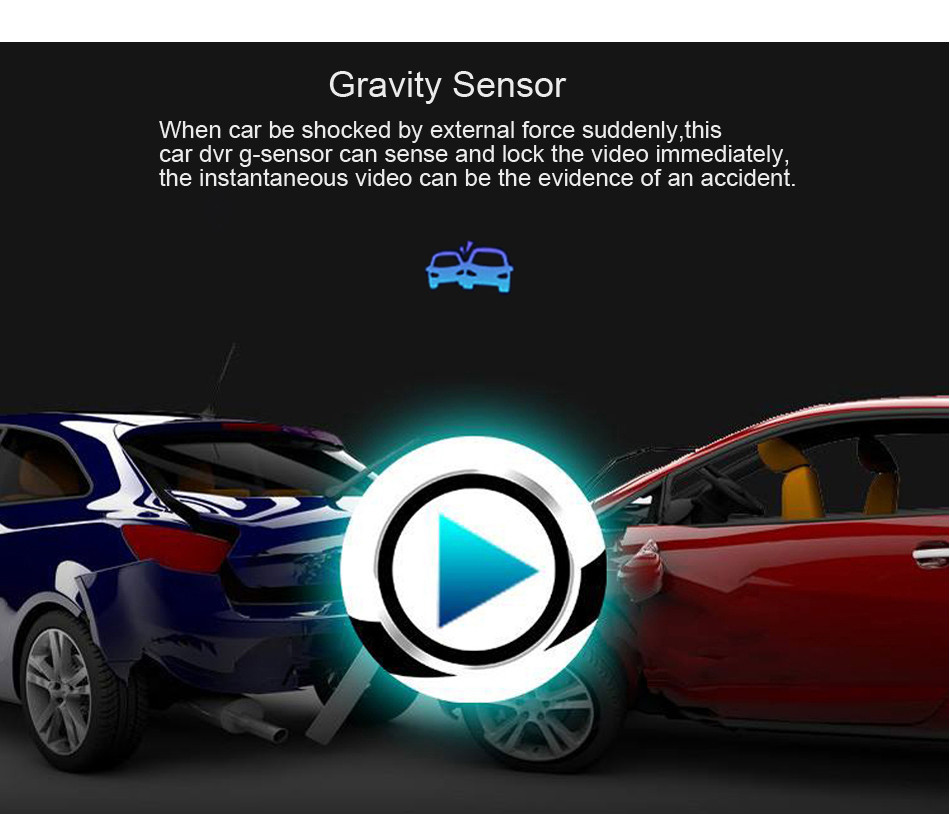 SKydot 3 Inch Mini Car Dvr Dash Cam Full HD 1080P Vehicle Camera Camcorder 170 Degree Night Vision G-Sensor Digital Video Recorder11