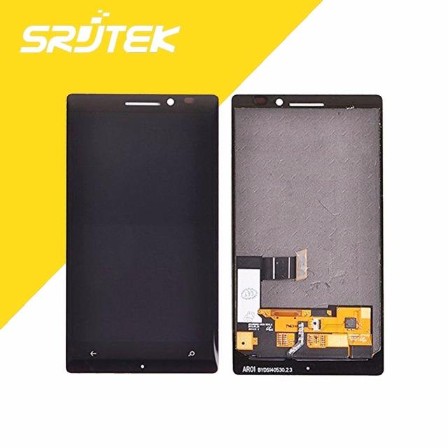 Para microsoft nokia lumia 930 display lcd com tela de toque completa assembleia preto peças de reparo de rastreamento gratuito