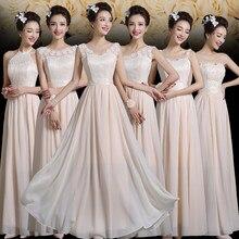 2017 new Bridesmaid Dresses plus size stock cheap under  50 red long a line  chiffon satin lace elegant romantic fashion jyx828xb addd8160e61f