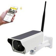 Солнечный Беспроводной IP Камера 1080P HD WiFi Водонепроницаемый IP67 безопасности Пуля Камера ИК Ночное Видение видеонаблюдения Открытый веб-камера