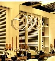 LED Modern Restaurant Bar Acrylic Chandelier Lamp Lighting Art Lighting Creative Office