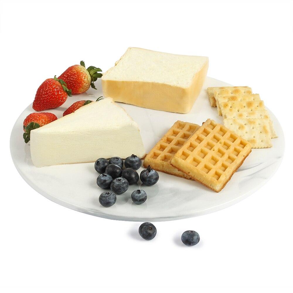 Lekoch assiettes à Dessert en céramique de noël assiettes à gâteau en marbre assiettes à dîner vaisselle plateau en porcelaine assiettes et assiettes Assiette