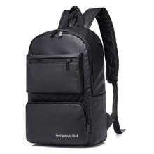 Gaoge Lightweight Waterproof Mens Backpack Black Men Laptop Students Bag Portable Women Backpacks For Travel Mochilas
