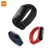 Original Xiaomi Mi band 3 Smart Watch Fitness Bracelet Wristband fitness tracker OLED Touch screen Sleep Heart Rate Monitor