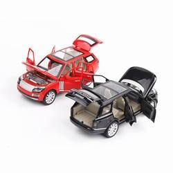 Горячие 1:24 Масштаб металла модель land range rover колеса литья под давлением внедорожник автомобиль отступить сплава игрушки со светом и звуко