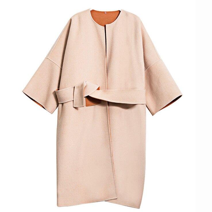 Renard 2019 Manteau Naturel De Coréenne Réel Parka Veste Long En Streetwear Oftbuy Lâche Femmes Kaki Mode D'hiver Laine Fourrure 7zP07dq