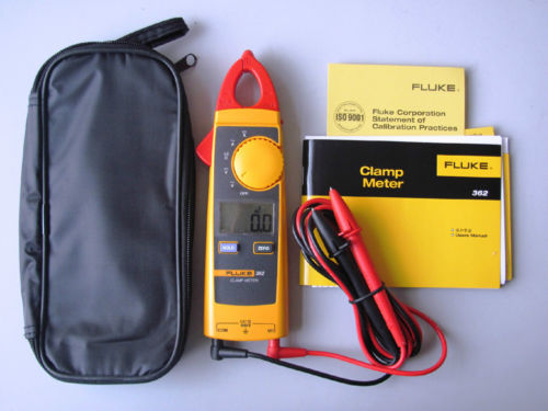 Fast arrival Brand New FLUKE 362 Detahable Jaw True-rms AC DC Clamp Meter