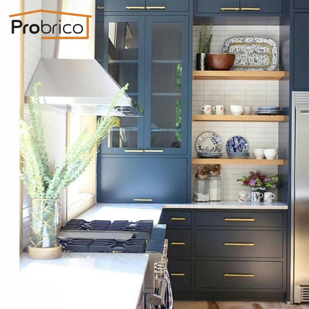 Probrico Schrank küche Schrank Zieht Gold Schrank Tür Griff 2 \