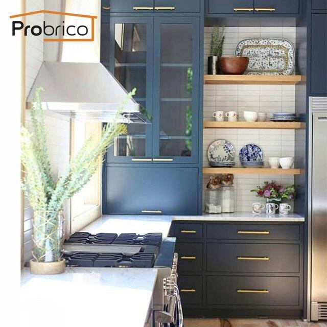 Online-Shop Probrico Schrank küche Schrank Zieht Gold Schrank Tür ...
