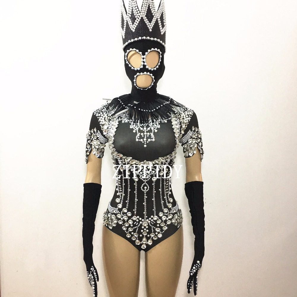 China crystal bodysuit Suppliers