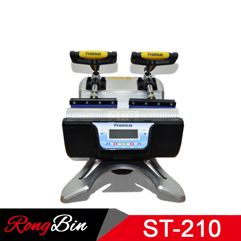 ST-210 Cüt Stansiya Mug Press Machine Sublimation Heat Press Machine - Ofis elektronikası - Fotoqrafiya 4