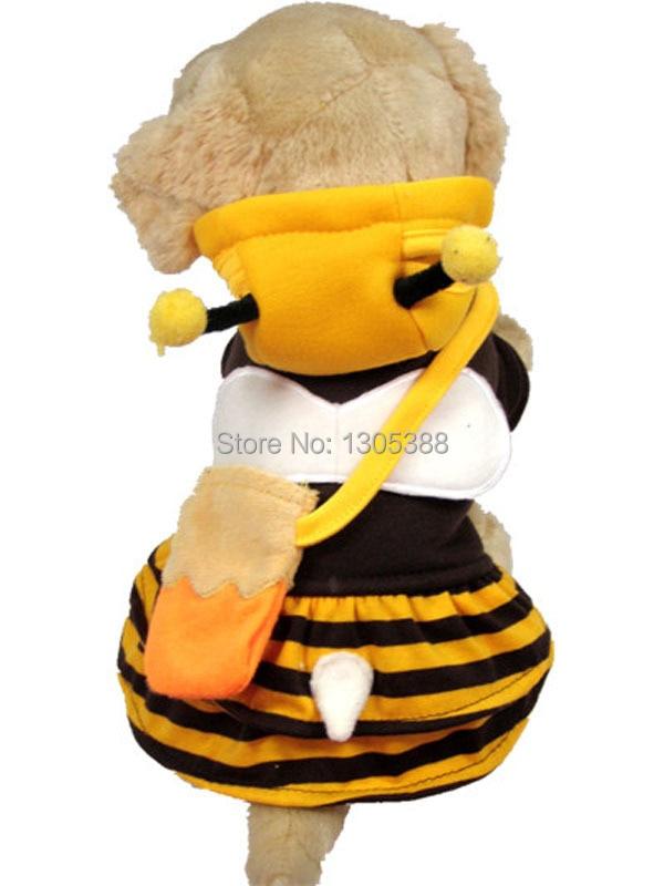 Japense Bee Design 애완견 개들은 CPAM 개 의류로 코트 무료 배송