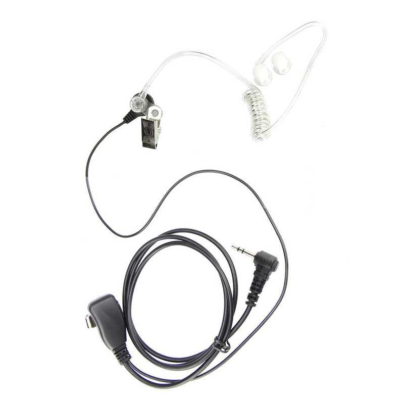 1 Pin 1 drut słuchawka zestaw słuchawkowy Fbi styl PTT wyczyść akustyczna cewka rury dla Motorola M1PE0401 MD200TPR MH230R MR350R MG160A MS350
