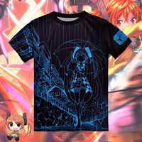 黒弾丸 Aihara Enju tシャツアニメコスプレ衣装半袖 Tシャツファッション男性女性の Tシャツトップス