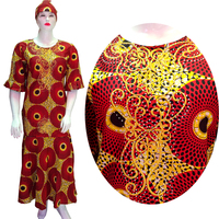 BAIBAZIN African Embroidery Dresses Top WAX dress for women African Traditional Private African Custom Clothes dashiki XL 3XL